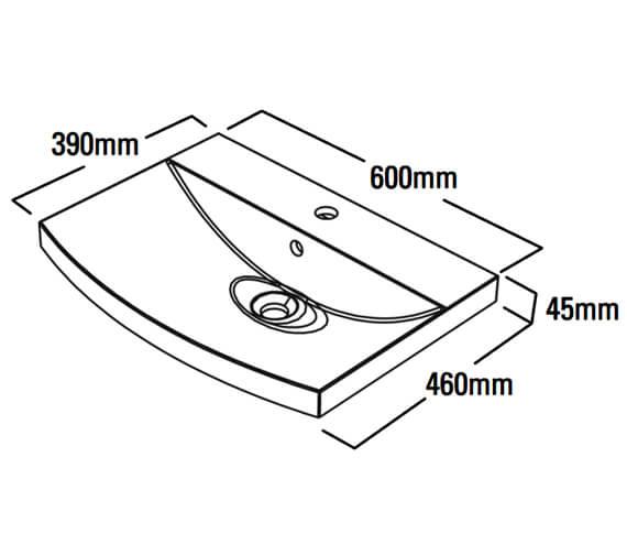 Technical drawing QS-V79311 / SER600C