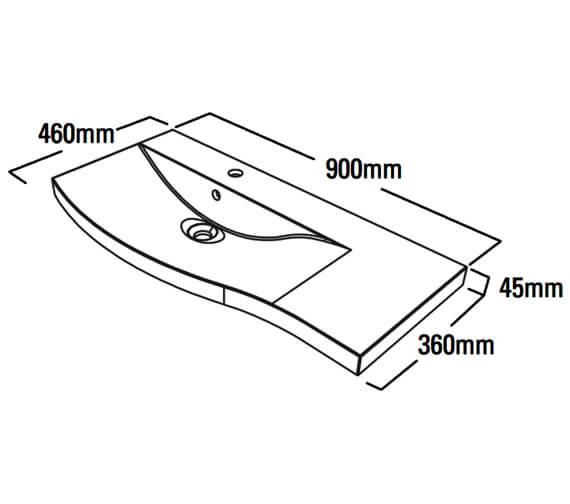 Technical drawing QS-V79314 / SER900LHC