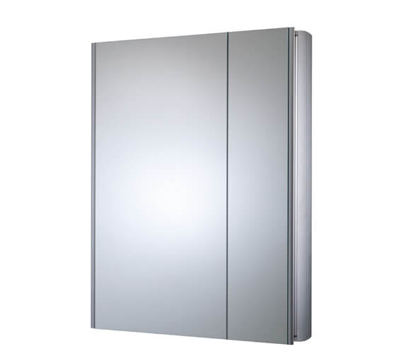 Roper Rhodes Refine Slimline Double Door Mirror Cabinet Non Electric - Also Available With Electric