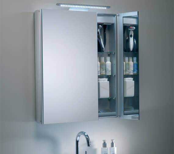 Roper Rhodes Refine Slimline Double Door Non Electric