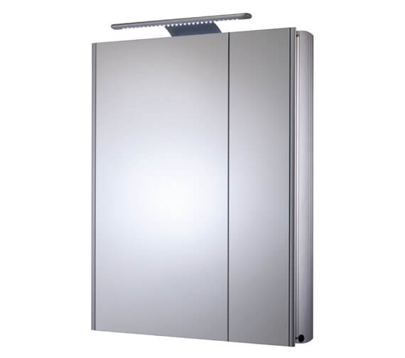 Alternate image of Roper Rhodes Refine Slimline Double Door Mirror Cabinet Non Electric - Also Available With Electric