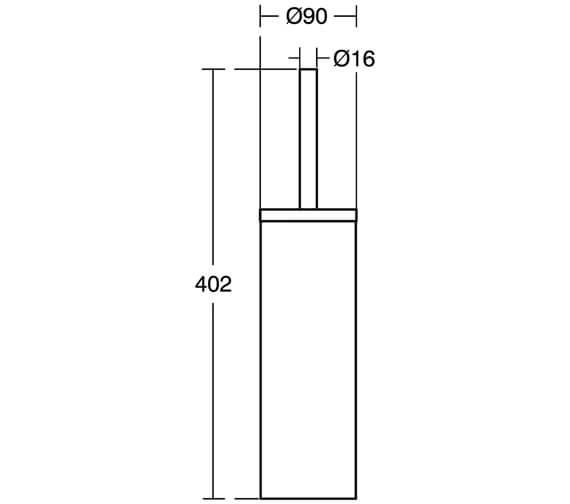 Technical drawing QS-V26712 / A9108MY