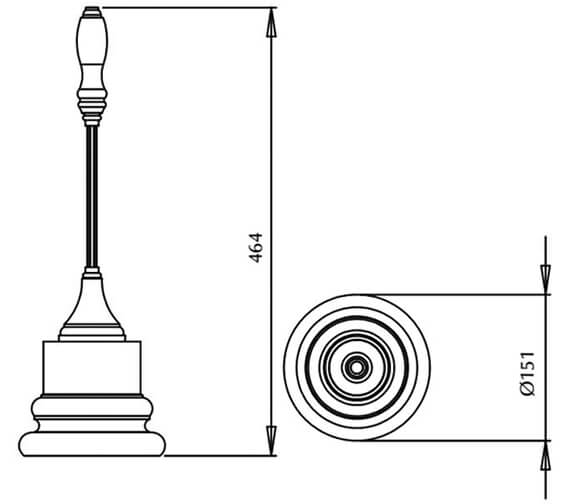 Technical drawing QS-V16446 / XBFS001100