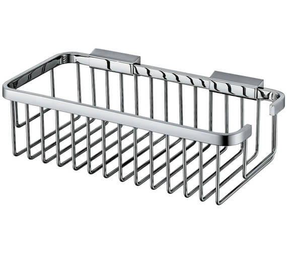 Additional image of Vado Rectangular Wall Mounted Medium Basket