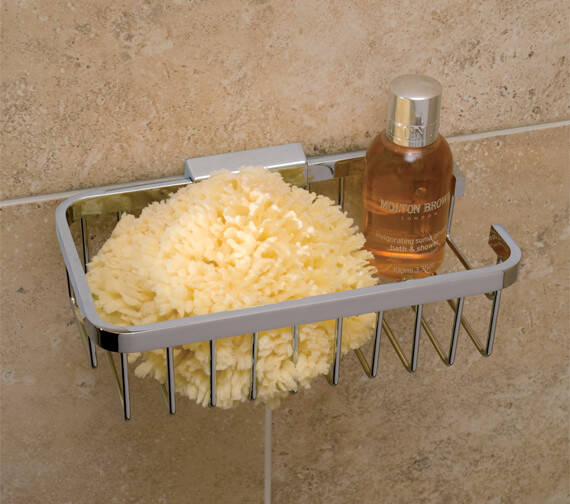 Vado Rectangular Wall Mounted Medium Basket