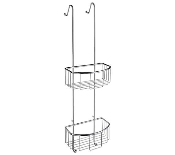 Smedbo Sideline Double Shower Basket