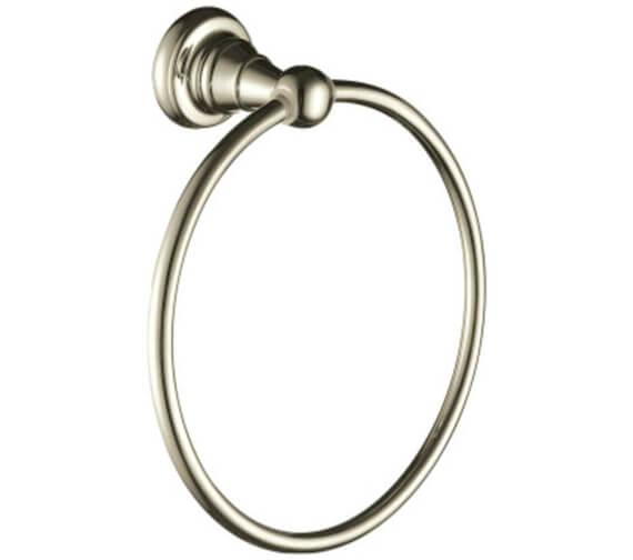Alternate image of Heritage Holborn Chrome Towel Ring
