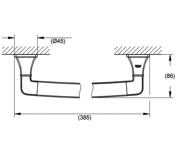 Technical drawing QS-V26859 / 40633000