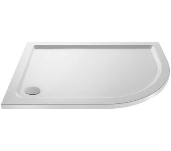 Alternate image of Premier Pearlstone Left Hand 900 x 760mm Offset Quadrant Shower Tray