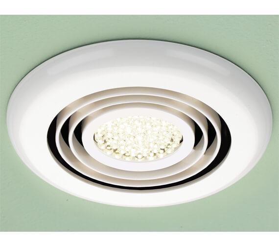 HIB Turbo Warm White LED Illuminated Inline Fan