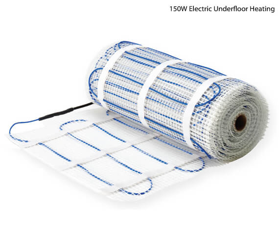 Sunstone Electric Underfloor Heating Mat System - 150W And 200W