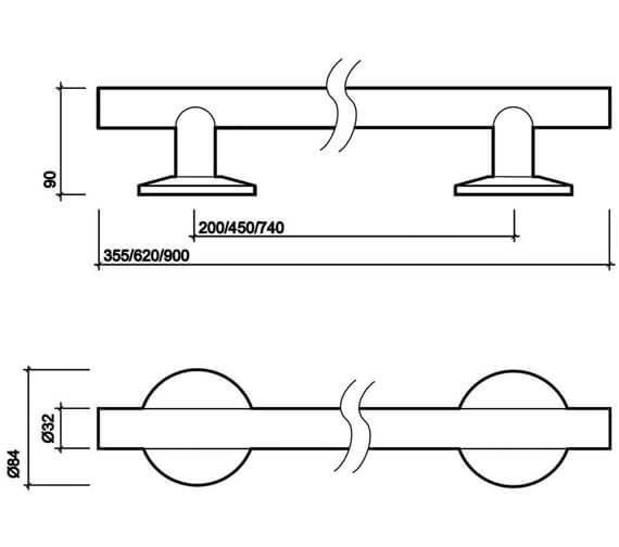 Technical drawing QS-V27852 / SR6935SS