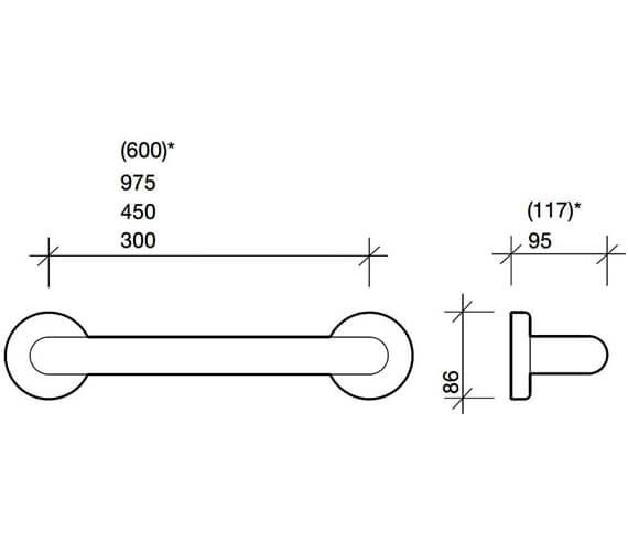 Technical drawing QS-V71777 / AV4902WH