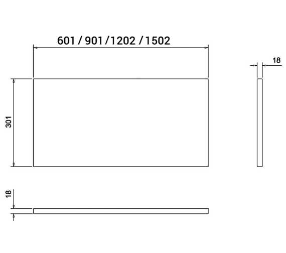 Technical drawing QS-V17476 / AT31W