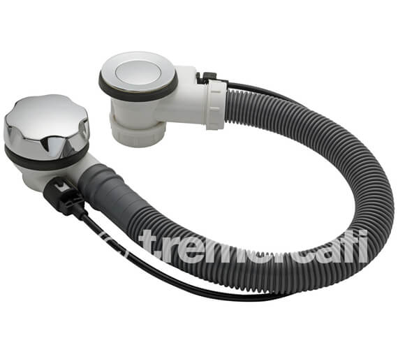 Tre Mercati Automatic Bath Pop Up Waste And Solid Plug