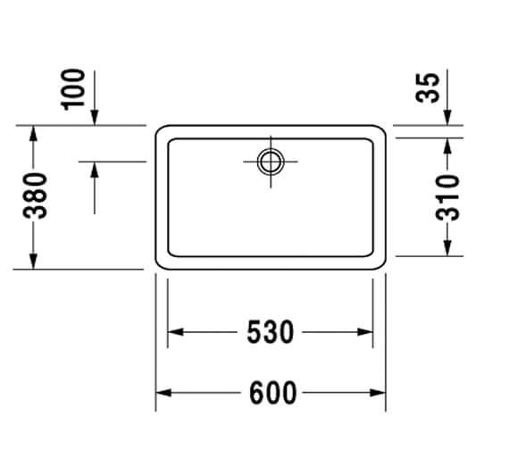 Technical drawing QS-V45480 / 0455500000