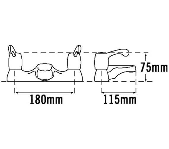 Technical drawing QS-V31537 / 3033