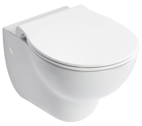 Armitage Shanks Contour 21 Plus Water Efficient Wall Hung Rimless WC Bowl