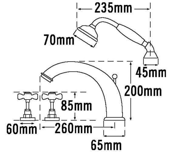Technical drawing QS-V31488 / 1085