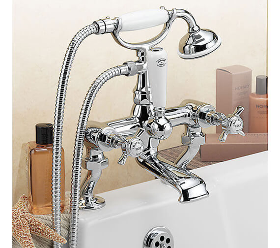 Additional image of Tre Mercati Imperial Bath Shower Mixer Tap With Kit