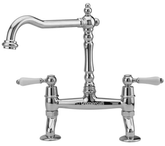 Tre Mercati Little Venice Bridge Kitchen Sink Mixer Tap