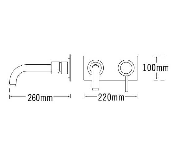 Technical drawing QS-V31275 / 63035