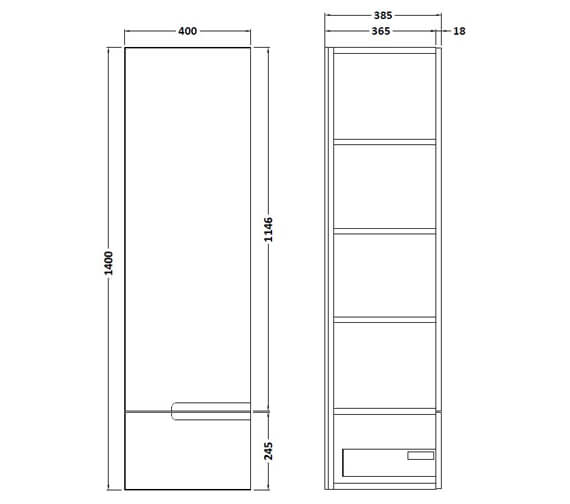 Technical drawing QS-V90096 / FMU762