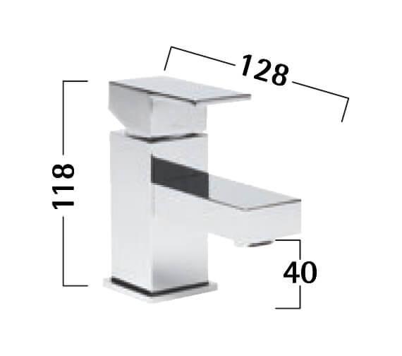 Technical drawing QS-V50259 / TND61