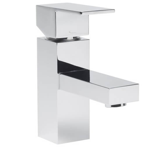 Additional image of Tavistock Index Mini Basin Mixer Tap With Click Waste