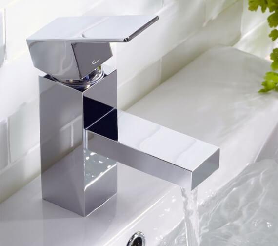 Tavistock Index Mini Basin Mixer Tap With Click Waste