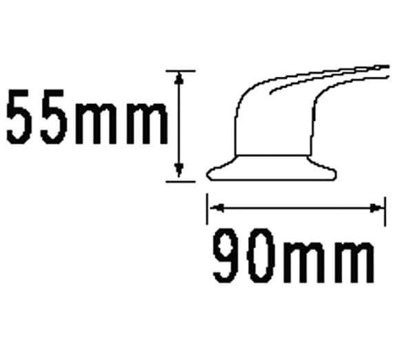 Technical drawing QS-V31426 / 95000