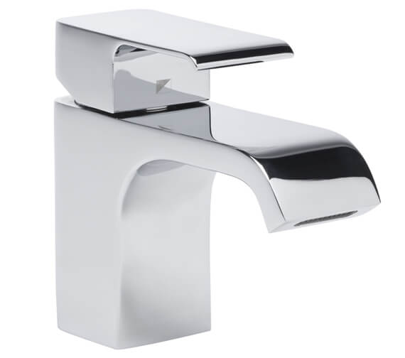 Roper Rhodes Hydra Mini Basin Mixer Tap With Click Waste 122mm High