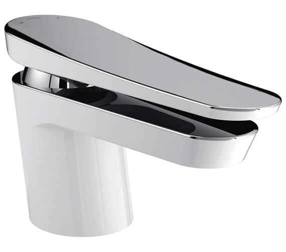 Additional image of Bristan Claret Chrome Deck Mounted Single Hole Basin Mixer Tap