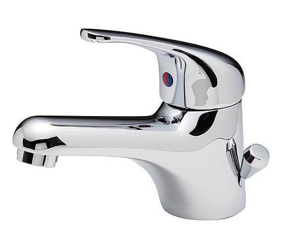 Tre Mercati Modena Mono Basin Mixer Tap With Side Pop Up Waste