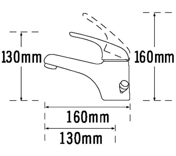 Technical drawing QS-V70637 / 95075