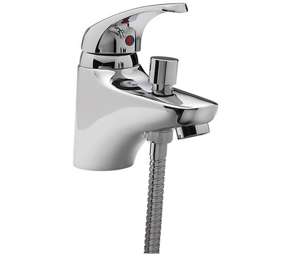 Tre Mercati Modena Mono Bath Shower Mixer Tap With Shower Kit