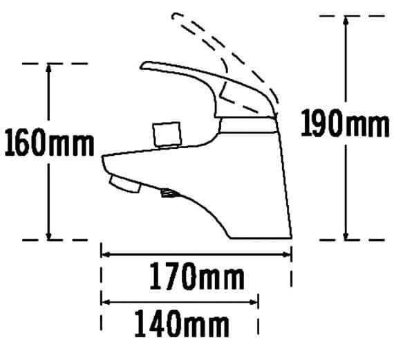 Technical drawing QS-V31418 / 95066