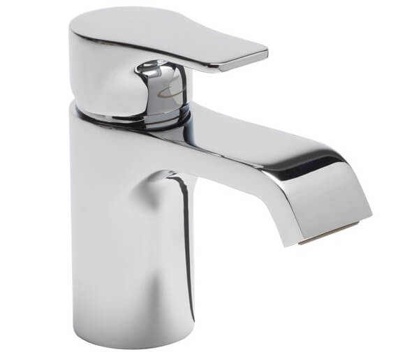 Tavistock Blaze Mini Basin Mixer Tap With Click Waste - 122 And 145mm Height Available