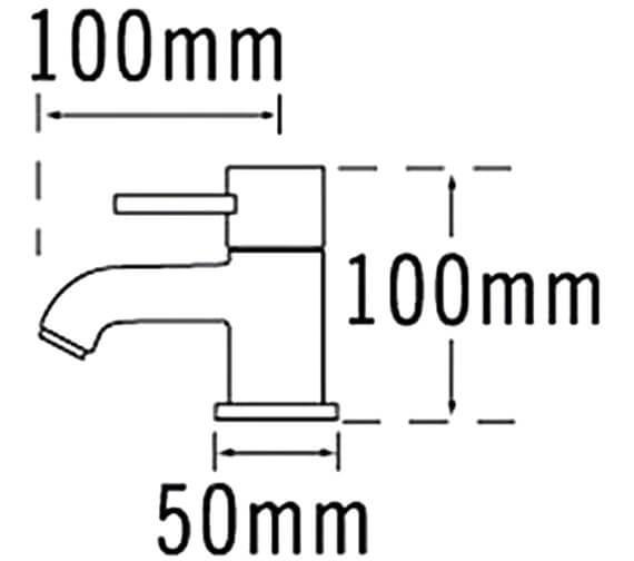 Technical drawing QS-V31563 / 63020