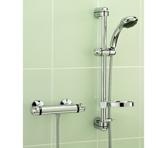 Tre Mercati Roma Exposed Thermostatic Shower Valve With Kit