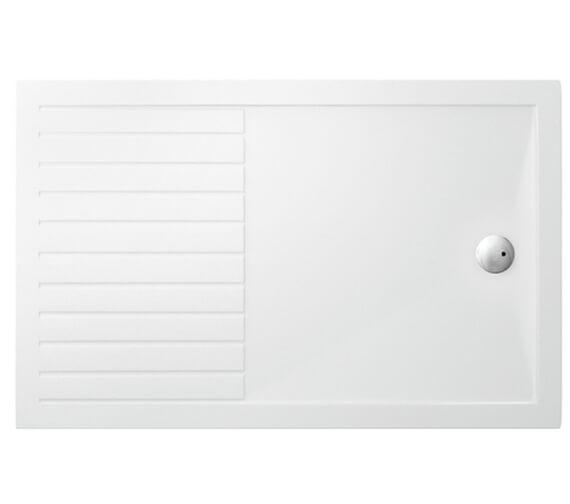 Britton Zamori Walk In Rectangle Internal Designer Shower Tray - Z1186