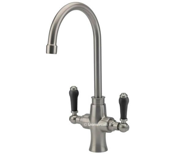 Additional image of Tre Mercati Victoria Bianco Mono Kitchen Sink Mixer Tap