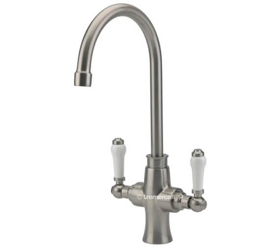 Alternate image of Tre Mercati Victoria Bianco Mono Kitchen Sink Mixer Tap