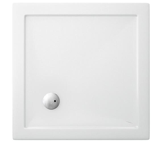 Britton Zamori Strong Square 800 x 800mm Shower Tray - Z1160