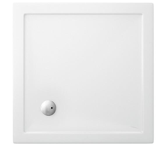 Britton Zamori Square Shower Tray 900 x 900mm - Z1161