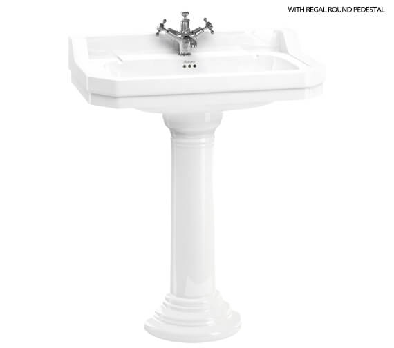 Burlington Edwardian 800mm Basin 1 Tap Hole
