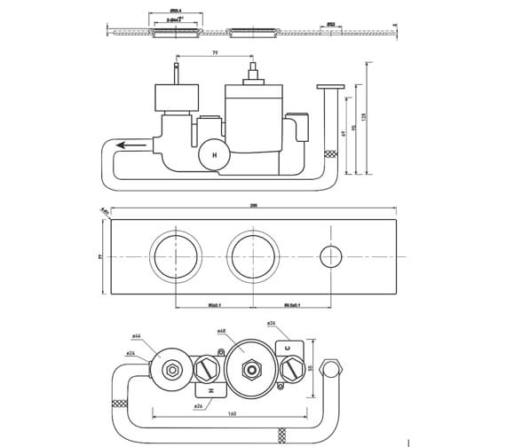 Technical drawing QS-V63594 / SV042SQ