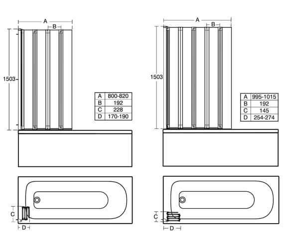 Technical drawing QS-V76836 / T9925EO
