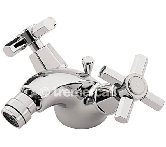 Tre Mercati Charleston Mono Bidet Mixer Tap With Pop Up Waste
