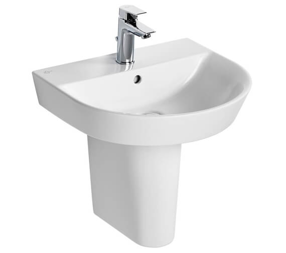 Ideal Standard Concept Air Arc 500mm 1 Tap Hole Basin - 550 And 600mm Optional